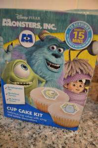 Monsters Inc Cake Mix