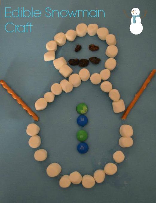 snowman edible