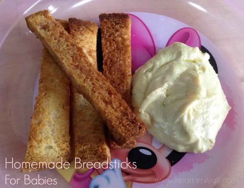 Baby breadsticks
